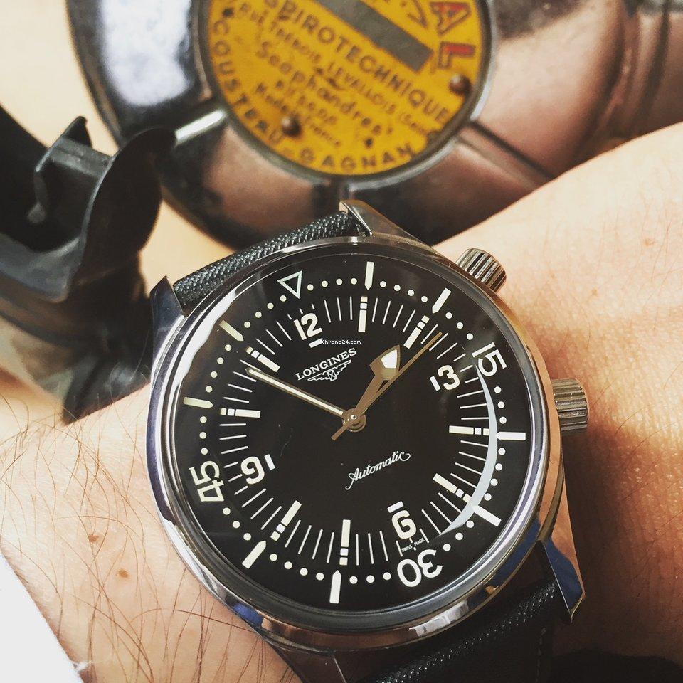 Longines Legend Diver no date eladó 815 451 Ft Magáneladó státuszú eladótól  a Chrono24-en cacda13eaf
