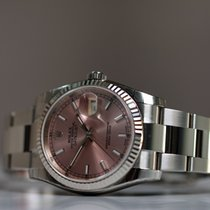 Rolex Oyster Perpetual Datejust Pink Dial Unworn