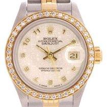 Rolex Ladies Rolex Datejust Watch 69173 Ivory Jubilee Dial