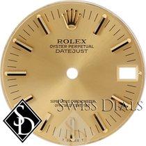 Rolex Datejust Champagne Stick Marker Dial T Swiss T Two-tone