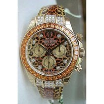 Rolex Daytona 116598 Leopard Special Edition 18K Yellow Gold...
