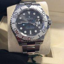 Rolex Yach-Master 40 Rhodium Dial 116622 Steel/Platinum...