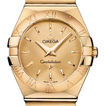 Omega Constellation Brushed 27mm 123.50.27.60.08.001