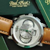 Paul Picot tecnograph steel 43 mm fullset