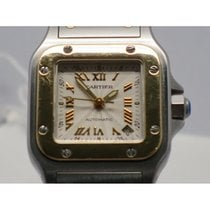Cartier Santos Galbee 2423 Steel and gold 24mm
