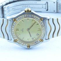 Ebel Classic Wave Damen Uhr Stahl/gold Mit Brilliant Lünette...