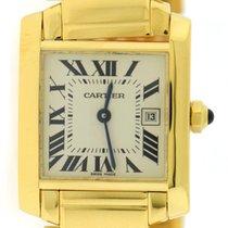 Cartier Tank Francaise Midsize 18K Yellow Gold