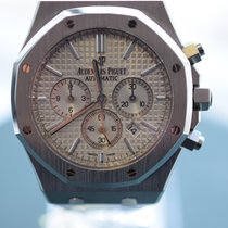 Audemars Piguet Royal Oak Chronograph White Dial Mint IN STOCK