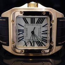 Cartier 18ct Rose Gold Santos 100XL, Auto, 2792, MINT, Boxed