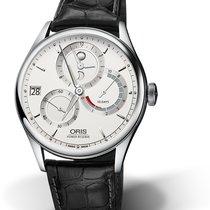 Oris CULTURA ARTELIER CALIBRE 112 Steel-Silver Dial-Black Leather