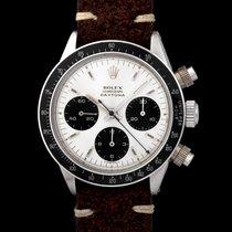 """Rolex Daytona 6240 With """"silver Big Logo"""" Dial & Mki Pushers"""
