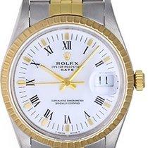 Rolex Men's Date Watch 15053 White dial