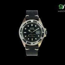 Out Of Order Strong Black Vintage Leather Italian Watch 40mm