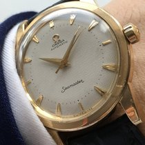 Omega Serviced Omega Seamaster Automatic with Honeycomb dial