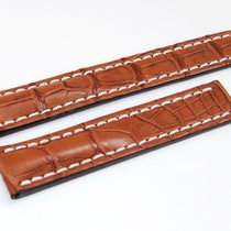 Breitling Krokoband 20/18 mm Braun