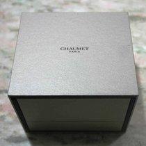 Chaumet vintage watch box grey newoldstock