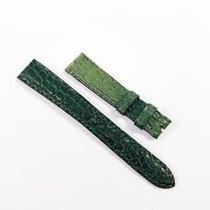 Omega Alligator Leather strap 15mm green