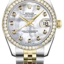 Rolex Datejust 31mm Stainless Steel and Yellow Gold 178383...