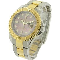 Rolex Unworn 16623 Yachtmaster 2-Tone in Steel with Yellow...