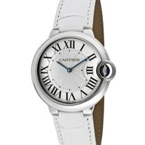 Cartier W6920087 Ballon Bleu de Cartier - Steel on Leather...