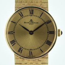 Baume & Mercier , Mens, 18K Solid Gold, 55121, Manual,...