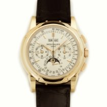 Patek Philippe Rose Gold Perpetual Calendar Chrono Watch Ref....