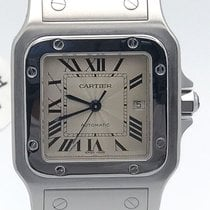 Cartier Santos Stainless Steel Galbee Automatic Watch