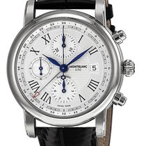 Montblanc Star Chronograph UTC Automatic Men's Leather...