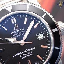 Breitling Superocean Heritage 42 Steel Indexes Black Milanese...