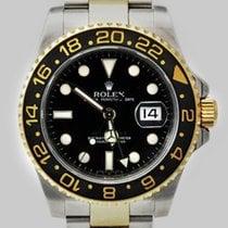 Rolex GMT Master II STAHL / GOLD REF 116713 LN Keramik
