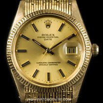 Rolex 18k Yellow Gold O/P Champage Dial Vintage Date Gents 1509