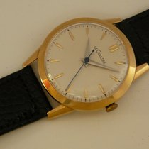 Jaeger-LeCoultre vintage 14K YG classic dress watch, Cal 810,...