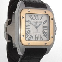 Cartier Santos 100 XL18K Gold and Stainless Steel
