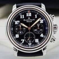 Blancpain 2185F-1130-63B Leman Flyback Chronograph Black Dial...