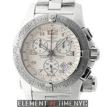 Breitling Emergency Mission Chronograph Stainless Steel Silver...