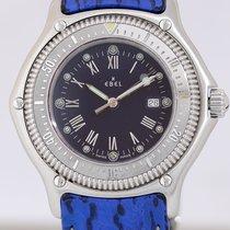 Ebel Discovery Diver Sportwatch Quarz blue Dial Steel Klassiker