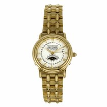 Blancpain Villeret Ladies 18K Yellow Gold Triple Calendar...