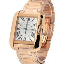 Cartier W5310003 Tank Anglaise Medium Model - Rose Gold on...