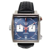 TAG Heuer Monaco Calibre 11 Automatic Chronograph (Like New)