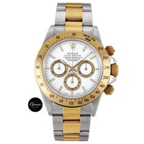 Rolex Yellow Gold Daytona 116523 White