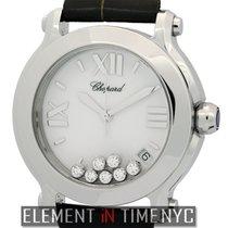 Chopard Happy Sport II 7 Diamonds Round Steel 36mm