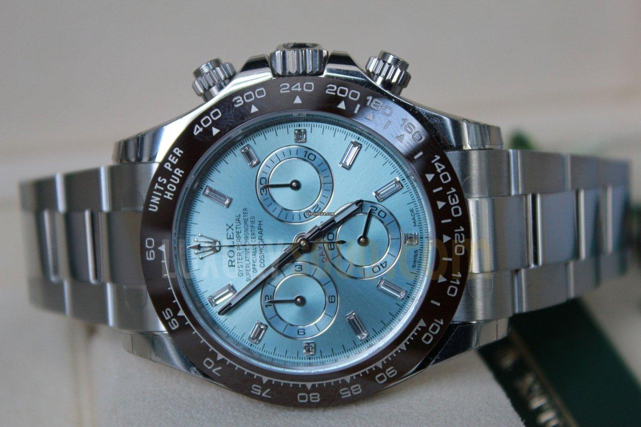 Rolex Daytona Platinum Diamond