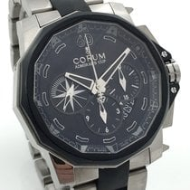 Corum Admiral's Cup Challenge Chronograph Titan 48mm Full Set