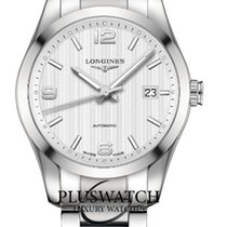 Longines Conquest Automatic  White Dial  40mm R