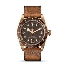 Tudor HERITAGE BLACK BAY Bronze Brown Aged Leather 79250 BM