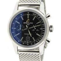 Breitling Transocean 38 Chronograph Stainless Steel