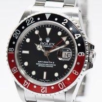 Rolex GMT Master II COKE Stahl Uhr 16710 von 1992