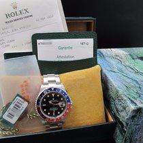 ロレックス (Rolex) GMT MASTER 2 16710 Pepsi Red/Blue Bezel Full Set