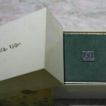 Omega vintage watch box de ville complete newoldstock