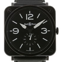 Bell & Ross Aviation 39 Ceramic Matte Quartz